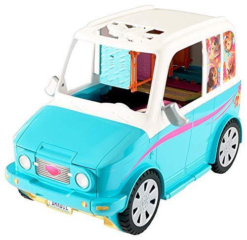 Barbie- ultimate puppy mobile bambola macchina dei cuccioli, multicolore, dly33