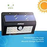 Solar Lights, Mpow 20 LED  Motion Sensor Security Lights, Home Security Solar Lights 3-in-1 Wireless Weatherproof Outside Sensor Lights for Pathway, Garden, Pool, Walkway, Driveway Bild 4