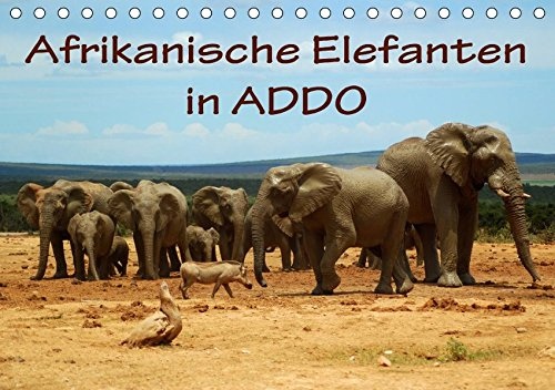 Addo Elephant National Park (Afrikanische Elefanten in ADDO (Tischkalender 2018 DIN A5 quer): Bilder aus dem ADDO Elephant National Park/Südafrika. (Monatskalender, 14 Seiten ) ... [Kalender] [Apr 01, 2017] van Wyk, Anke)