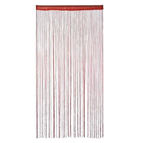 candora® Polyester Tür Fenster String Bead Vorhang Quaste 100x 200cm