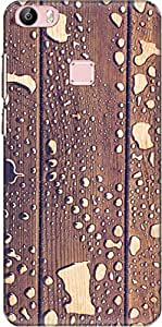 The Racoon Lean printed designer hard back mobile phone case cover for Vivo X Play 5 / Vivo X Play 5 Elite. (water wood)