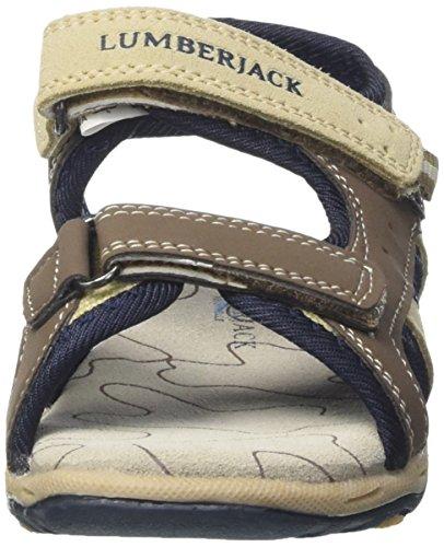 Lumberjack Levi, chaussures à bouts ouverts garçon Beige (Sand)