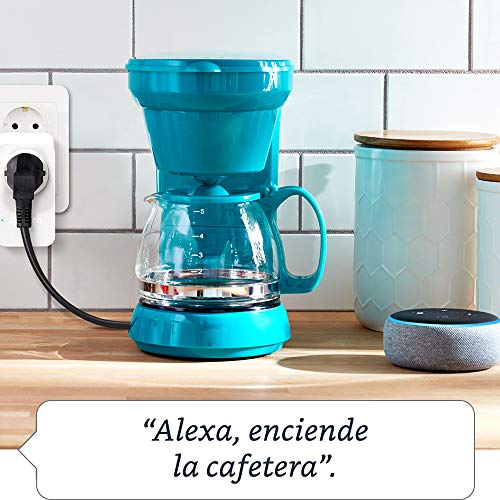Enchufe inteligente wifi (Amazon Smart Plug) compatible con Alexa