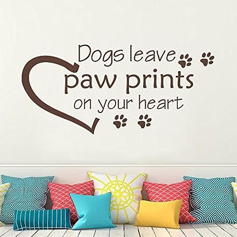 Cani lasciare impronte sul tuo cuore–Cane Pet