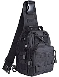 G4Free Lightweight Tactical Assault Small One Strap Sling MOLLE Backpack