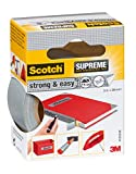 Scotch 4105S38 Gewebeband Strong And Easy Supreme, sehr hohe Klebkraft, 38 mm x 3 m, grau
