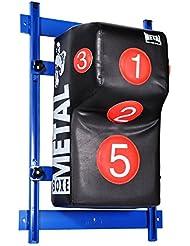 METAL BOXE - Saco de boxeo para pared con riel