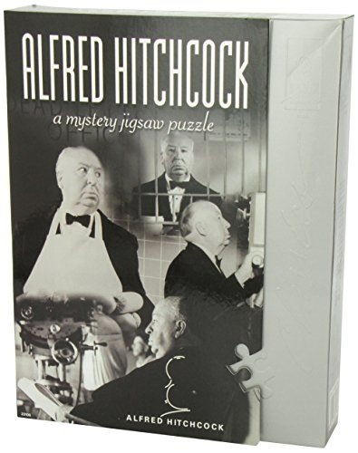 Classic Mystery Jigsaw Puzzle Alfred Hitchcock