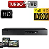 HIKVISION DVR 16 Kanal Kamera Video Recorder mit WiFi HDMI P2P Turbo HD 1080P TVI AHD