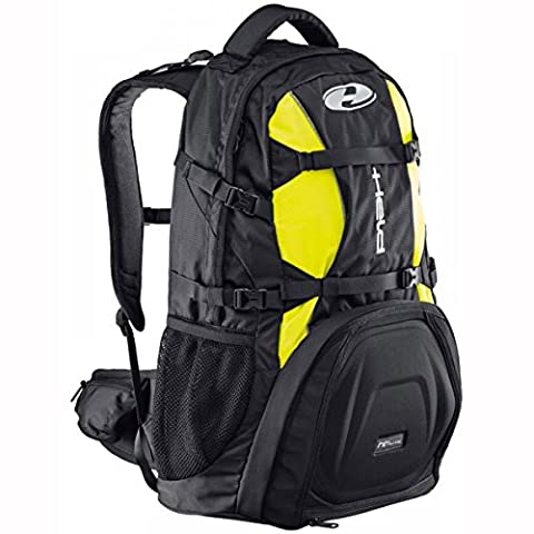Held Motorcycle Clothing Held 4691 Adventure Evo Sac à dos moto Noir/jaune 28 litres