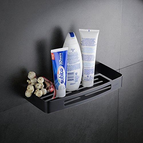 Hiendure Badezimmer Dusch-Caddy zum für Shampoo, Conditioner, Seife