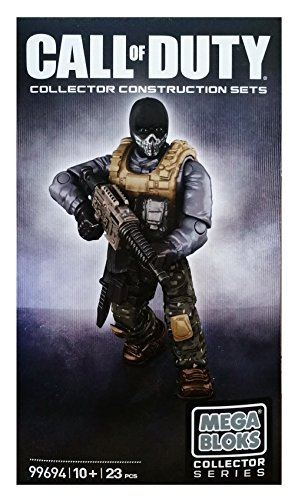 Call of Duty Ghosts Exclusive Mega Bloks Figure Set
