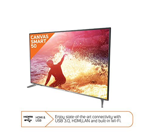 Micromax 127 cm (50 inches) Canvas S-50 Full HD LED Smart TV (Black)