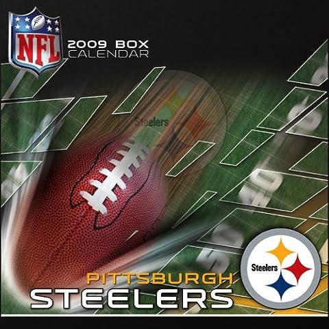 NFL Pittsburgh Steelers 2009 Box Calendar
