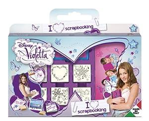 MULTIPRINT Violetta - Juegos de Sellos para niños, Caucho, Madera, 3 año(s), Italia, 330 mm, 40 mm