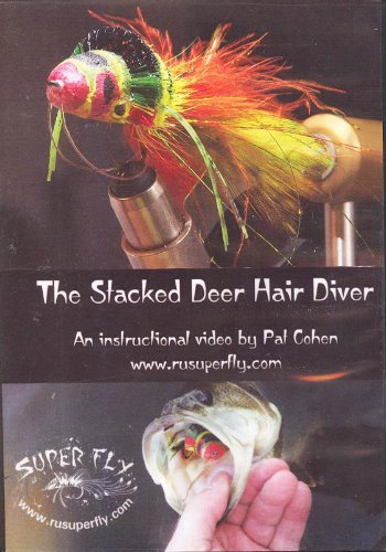 The Stacked Deer Hair Diver by Pat Cohen (Tutorial Fly Tying DVD)