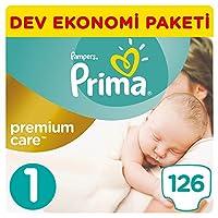 Prima Bebek Bezi Premium Care 1 Beden Yenidoğan, Beyaz