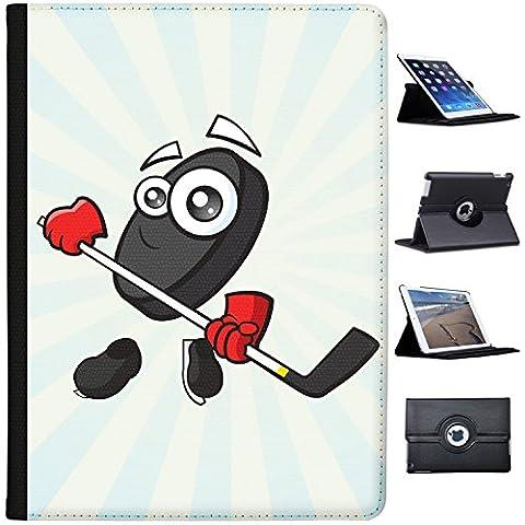 """Sporticon Eishockey Puck Schlittschuhe Case Cover / Folio aus Kunstleder für das Apple iPad Pro 12"""""""