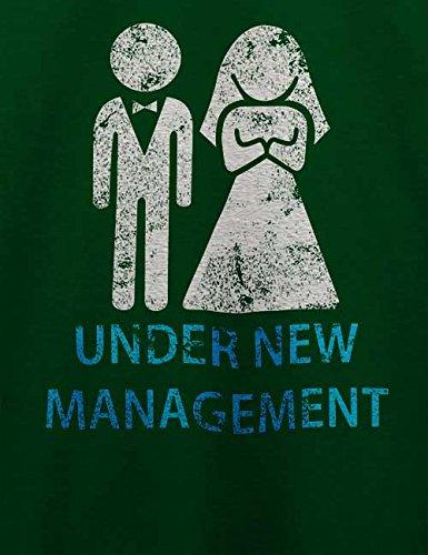 Under New Management Vintage T-Shirt Dunkel Grün