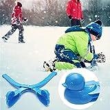 XIANGJ Forma de Pato Snowball Maker, Snow Scoop Clip, Snow Sand Clay Mold Tool Juguete para niños Color Aleatorio
