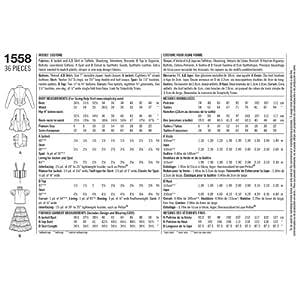 Simplicity us1558r5Taille R5Patron de costume steampunk pour