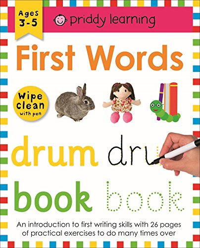 First Words: Wipe Clean Workbooks por Roger Priddy