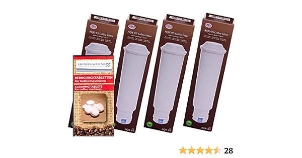 10 pulizia Tabs 4 X CARTUCCIA FILTRO compatibile MELITTA caffè pieno distributori automatici