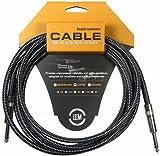 Leem FGC-II-3 C Câble pour Guitare 3 m Noir
