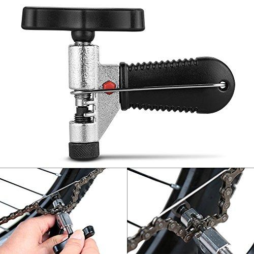 Fahrrad Ketten Werkzeug,Furado Verstellbar Fahrrad Kettennieter, Qualitativ Hochwertige Edelstahl Werkzeug Kettennietdrücker, Fahrrad Ketten Entferner Werkzeug für Fahrrad/Radsport (schwarz ) - 3