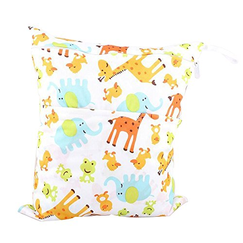 niceeshoptm-baby-infant-waterproof-wet-and-dry-diaper-bag-for-baby-carriage-giraffe
