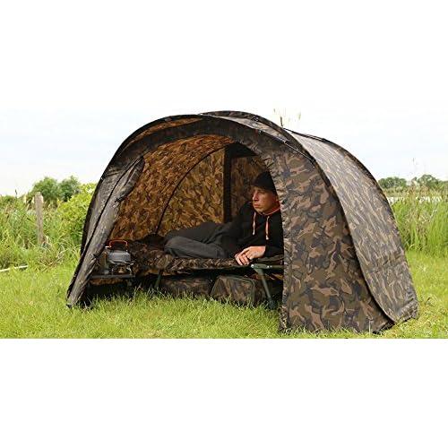 519kHaIgJsL. SS500  - Fox Carp Fishing NEW Easy Shelter Camo Bivvy