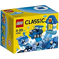 LEGO Classic 10706 - Set Costruzioni Scatola della Creatività, Blu