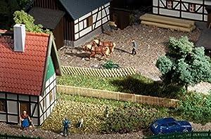 Auhagen 44626Enrejado y Rough hewn Vallas Modelling Kit