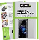 dipos I 6X Schutzfolie matt passend für Sony Xperia XZ2 Premium Folie Bildschirmschutzfolie