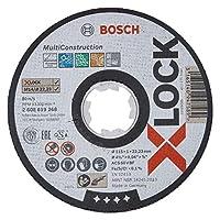 Bosch X-Lock Aksesuarları, Kesme Diski, Gri, 1 Adet