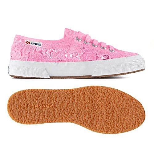 Superga 2750 MACRAMEW Unisex-Erwachsene Sneakers Rosa