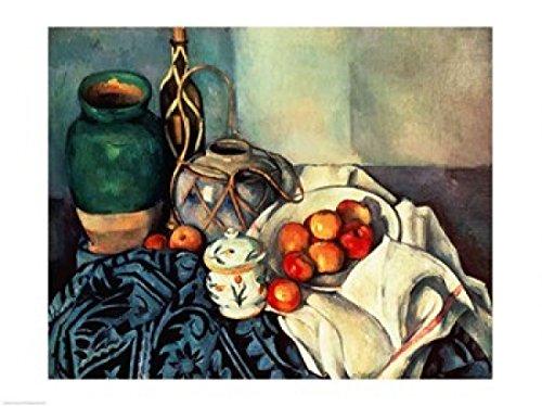 Paul Cezanne – Stillleben mit Äpfeln Kunstdruck (60,96 x 45,72 cm) (Äpfeln Mit Cezanne Stillleben)