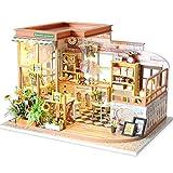 NZHSAMJ Miniatur Kits DIY Häuschen Selbstgemachtes zusammenbauendes...