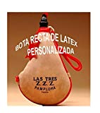 Bota de vino clásica recta látex- PERSONALIZADA - 1,5 litros
