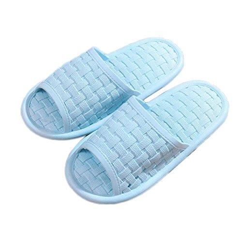 Pantofole da bagno per uomo e donna mule soft slippers slip-on infradito doccia antiscivolo sandali termali beach slide pool home scarpe , gray eva , 38/39