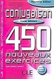 Image de Conjugaison 450 exercices - Niveau débutant - Cahier d'exercices