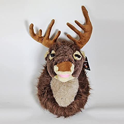 Motion Activated Singing Reindeer Head 40cm