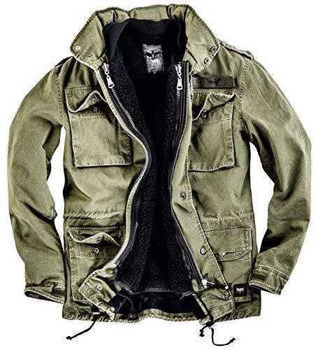 Black Premium by EMP Army Field Jacket Winterjacke Oliv M