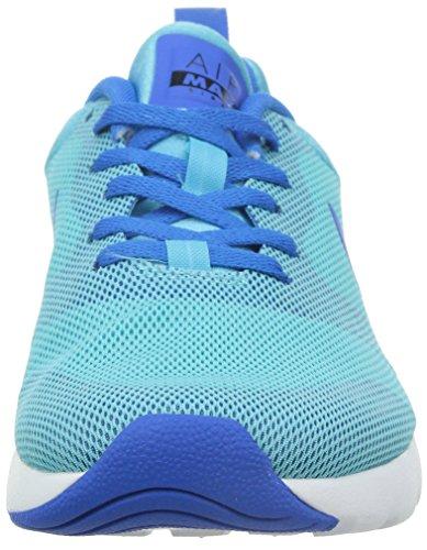 Nike Wmns Air Max Sirene, Summit WeiÃ? / lyon Blau-Laser-Hochrot-sl, 6 Us Blau