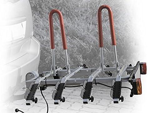 Neues Modell Anhängerkupplung montiert Kippen 4Bike Rack bis zu vier
