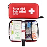 Anpole 202 Pieces Compact First Aid Kit, Professional Emergency Kit Waterproof Indoor Outdoor