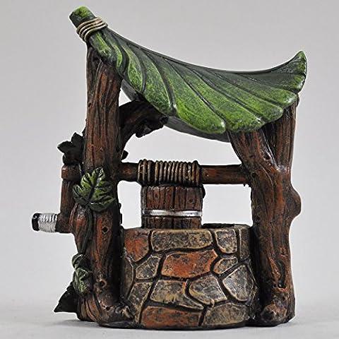 Fée Jardin UK Mini Wishing Well Garden Home Decor miniature–Elfe Pixie Hobbit Idée Cadeau magique–hauteur: 12cm