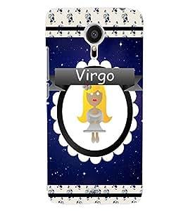ColourCraft Zodiac Virgo Back Case Cover for MEIZU MX5