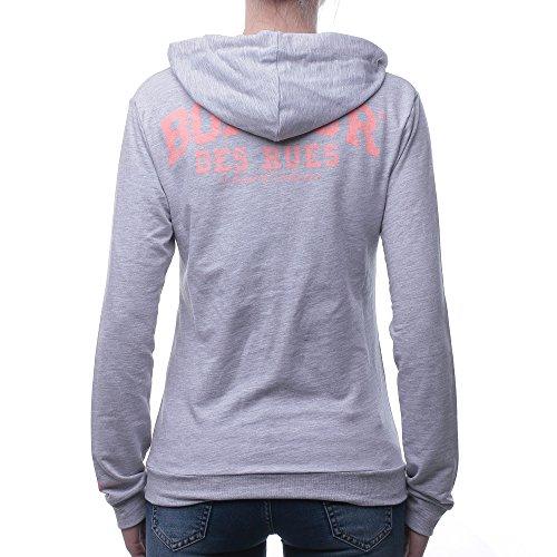 BOXEUR DES RUES Damen Pullover Grau (Grey Mel)