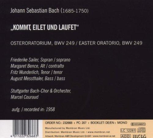 Bach J S: Easter Oratorio